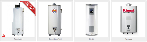 water heater type Direct Home Ontario